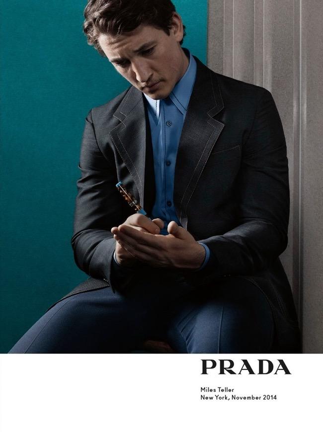 , Prada Homme Invite des Stars de Ciné pour l'Ete 2015