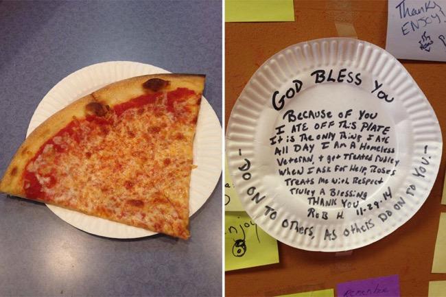 , Une Part de Pizza pour Vous, Une pour les Démunis, Ce Concept du Partage qui Cartonne