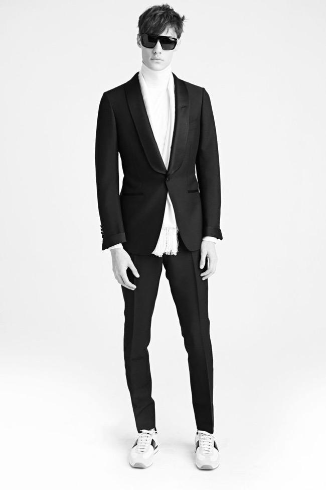 , L'Hiver 2015 Tom Ford Homme met le Style Rétro à Carreaux