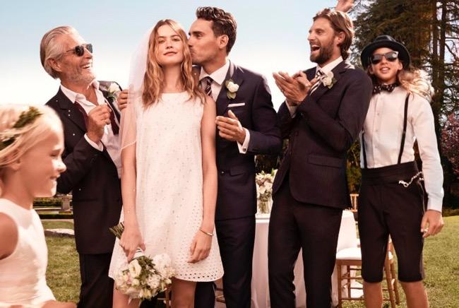 , Pour l'Ete 2015 Tommy Hilfiger Invite la Mariée dans sa Campagne
