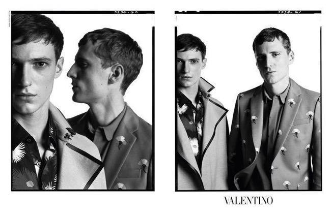 , Campagne Mug Shot chez Valentino Homme Ete 2015