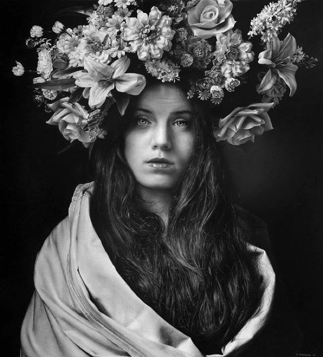 emanuele-dascanio-portrait-photo-realisme-crayon-fusain, Ces Captivants Photos Portraits sont des Dessins au Crayon