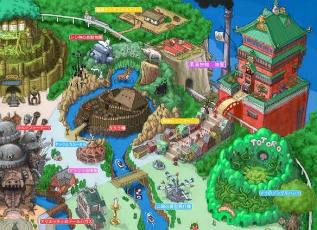 , Bienvenue à Tokyo Ghibli Land, le Plus Féérique des Parcs à Thème