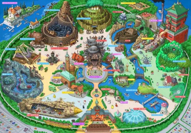 ghibli land parc attraction tokyo takumi 4 - Bienvenue à Tokyo Ghibli Land, le Plus Féérique des Parcs à Thème