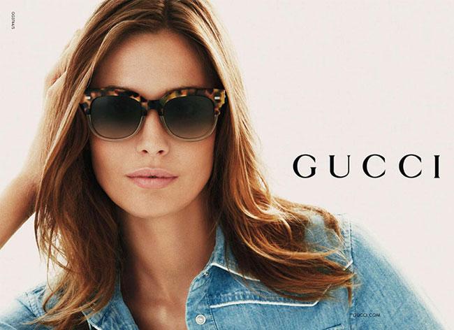 Lunettes de Soleil Gucci Ete 2015, Camouflage à la Plage - MaxiTendance 698c5ef8364a
