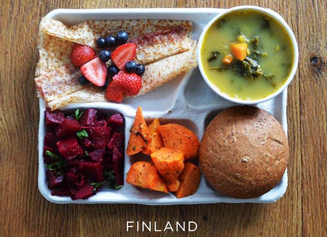 , Decouvrez les Repas des Enfants dans les Ecoles du Monde Entier