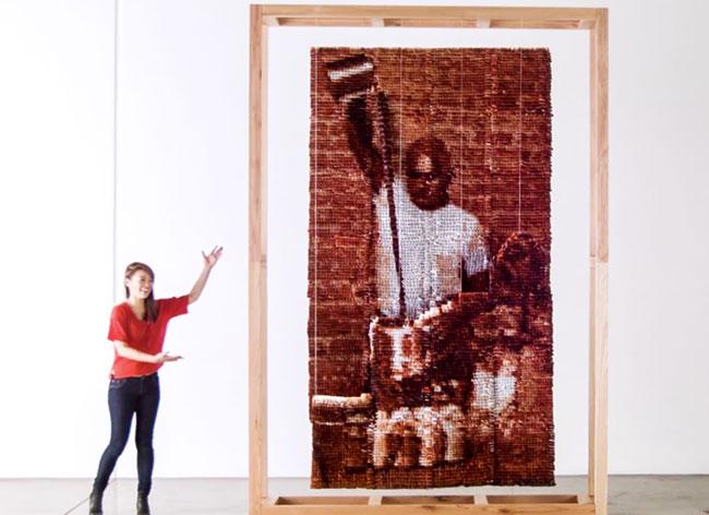 , 20 000 Sachets de Thé pour un Portrait de Teh Tarik (video)