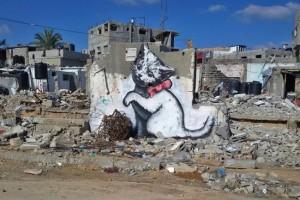 street-artiste-banksy-tag-gaza-palestine-04