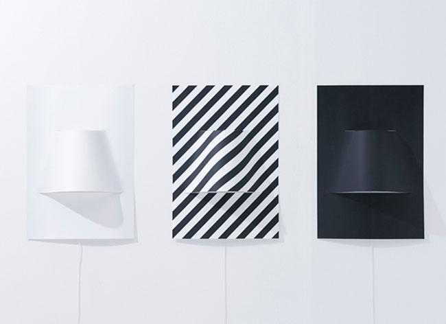 Applique murale minimaliste noiseinthecity