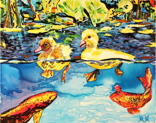 John Bramblitt, Artiste et Aveugle il se Sert de ses autres Sens pour Peindre ses Toiles