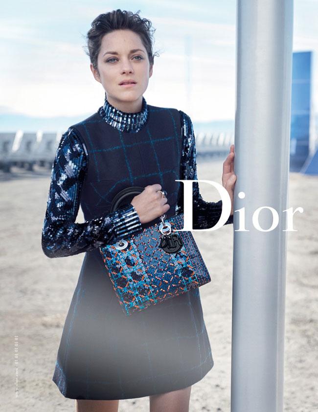 , Retour vers le Futur pour la Lady Dior Marion Cotillard