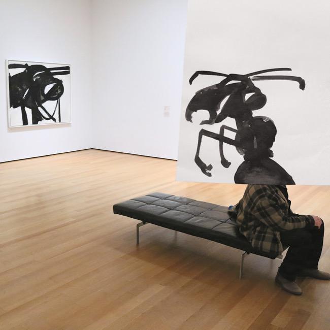 , Avec son Carnet de Croquis, il Détourne les Toiles de Maitres au MoMA