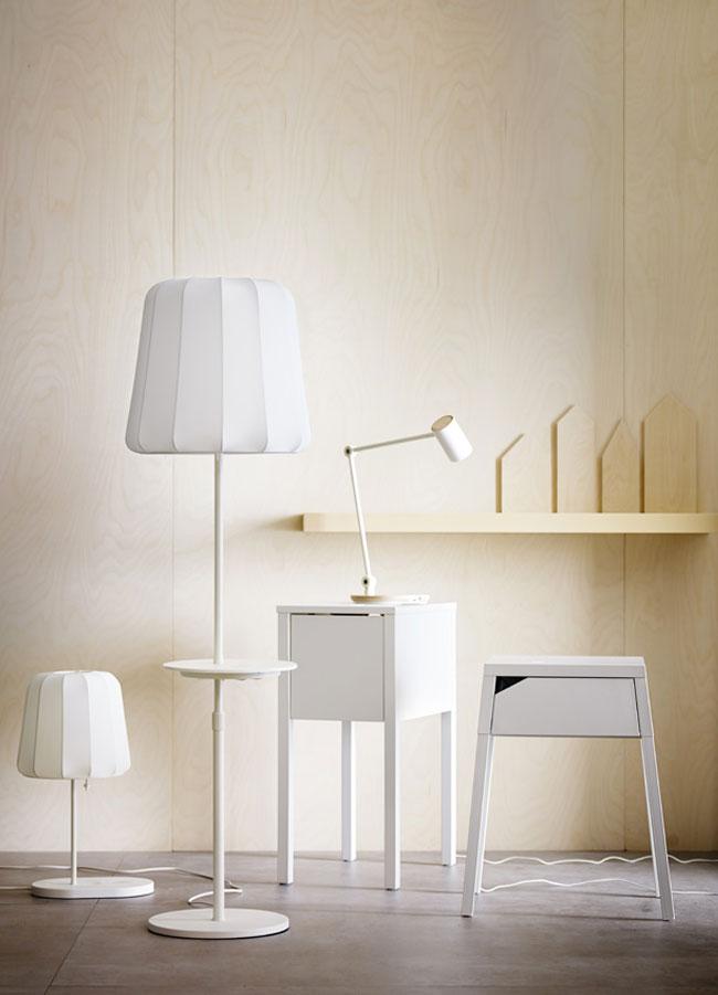 Ikea mobilier luminaire chargeur induction sans fil 4