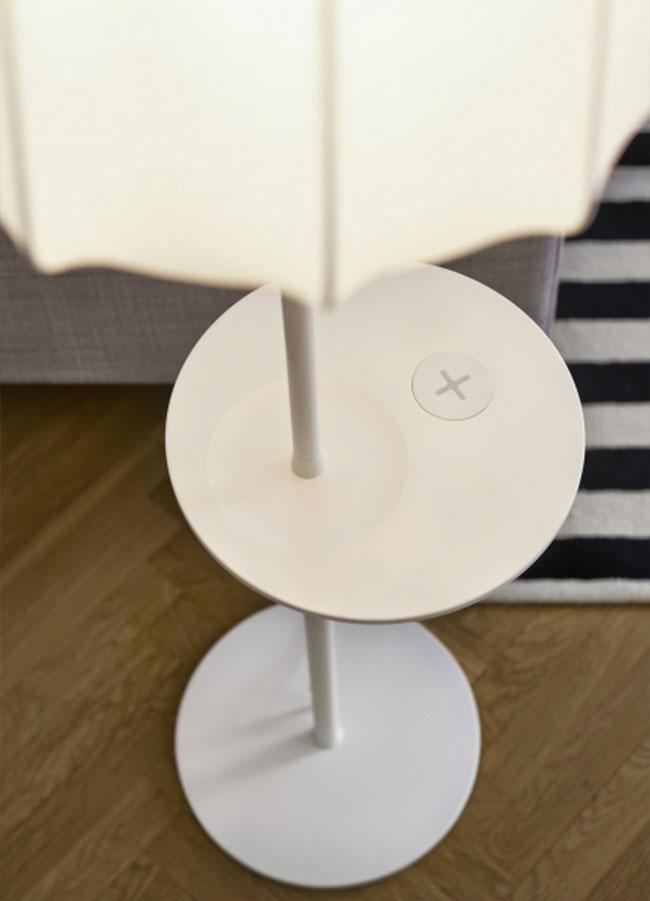 , Luminaires et Mobilier Ikea pour Recharger sans Fil vos Appareils Mobiles