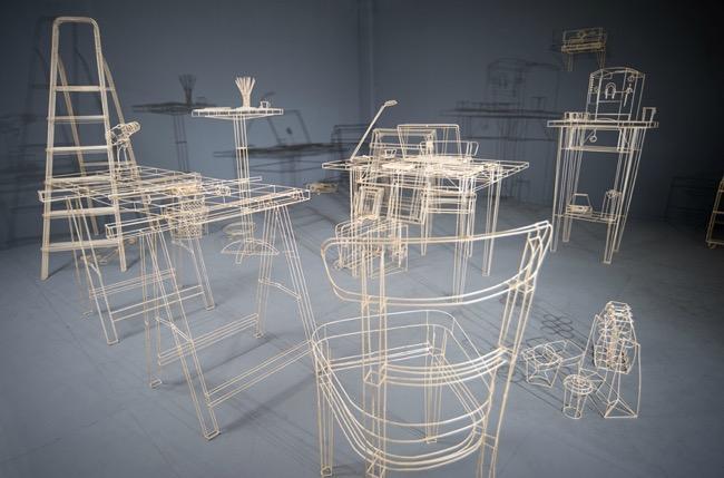 janusz gruenspek sculptures bois 3D, Des Modèles 3D Virtuels en Sculptures de Bois bien Réelles