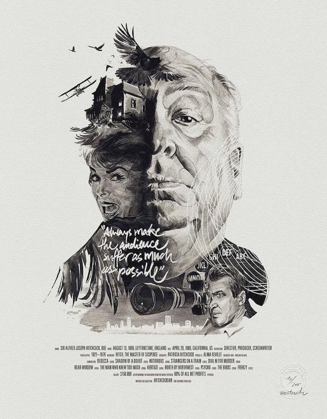 , Les Réalisateurs et leurs Iconiques Films dans de Parfaites Illustrations