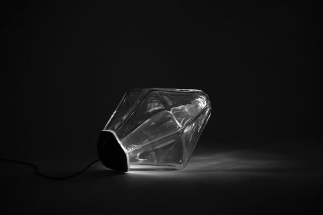 , Basculer cette Lampe Mercure en Verre Soufflé pour l'Allumer