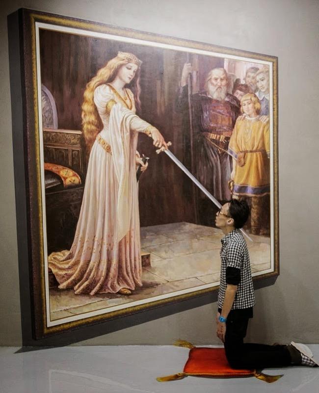 , Art in Island, le Musée aux Spectaculaires Peintures 3D Interactives (video)