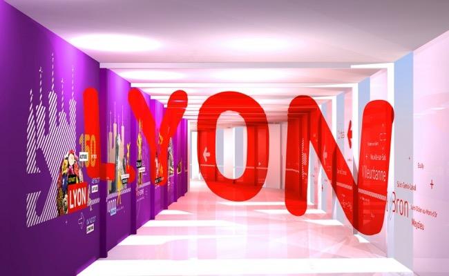 aeroport lyon st exupery anamophose signaletique grapheine 5 - Signalétique en Anamorphose à l'Aéroport de Lyon St-Exupéry
