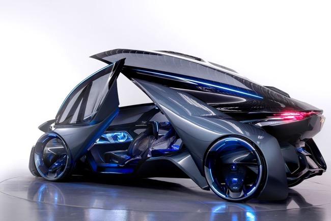 , Chevrolet-FNR, le Super Car Électrique sans Volant ni Chauffeur (video)