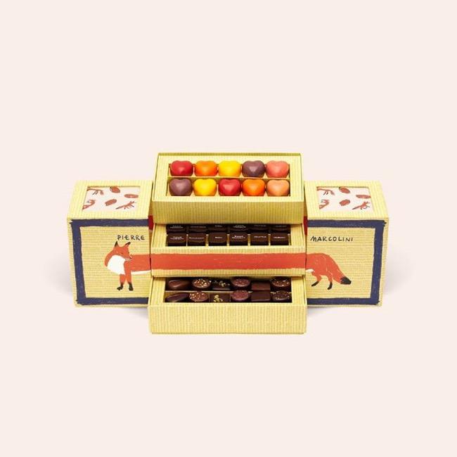 , Le Chocolatier Pierre Marcolini à la Mode Kitsune