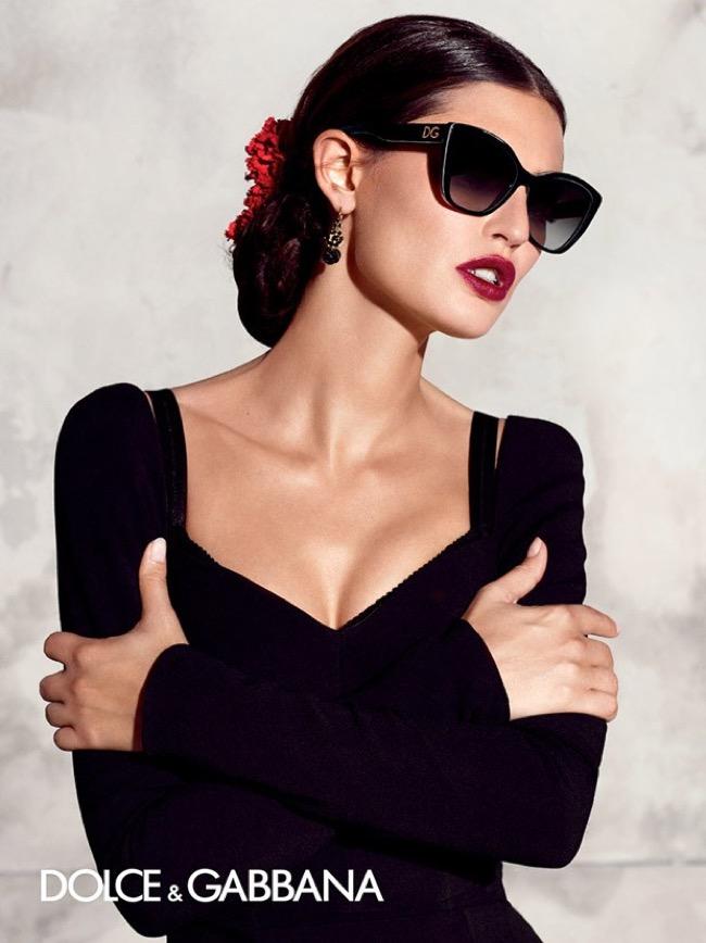 , Lunettes Dolce & Gabbana Ete 2015, Monture XXL et Dentelle