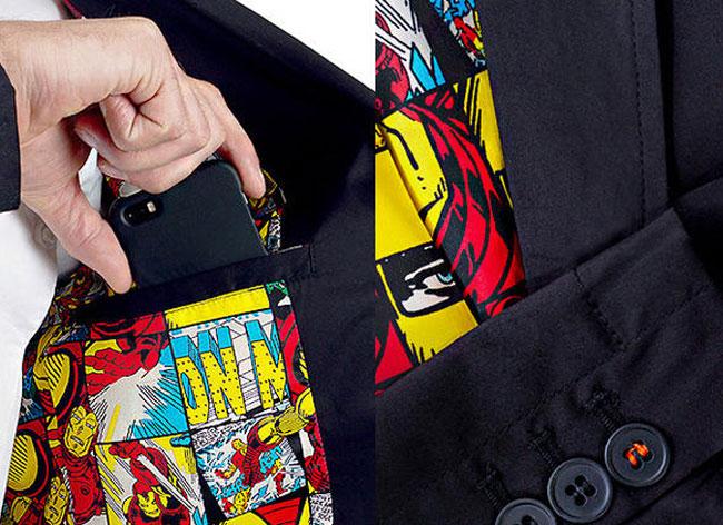 , Marvel Avengers, 1ere Collection de Prêt-à-Porter pour les Dandys