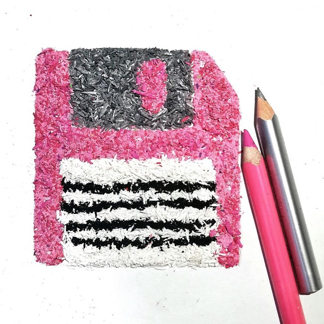 , Ce que cette Artiste fait avec les Copeaux de Crayons va vous Étonner