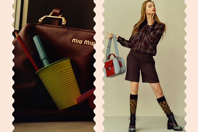 , Miu Miu Pre Fall 2015, un Diptyque Mode d'une Fin de Saison Estivale