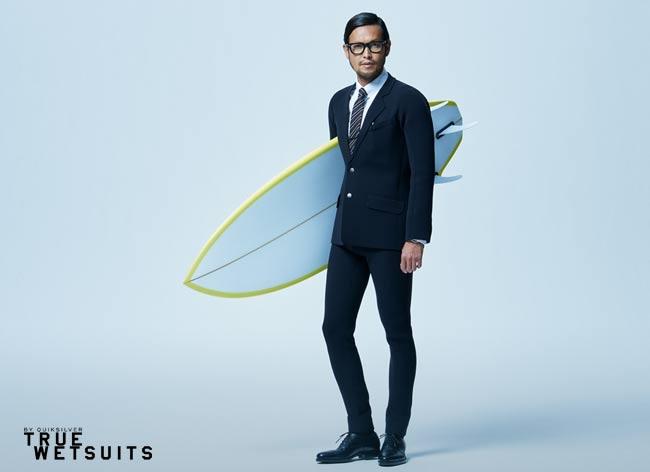 quicksilver true wetsuits costume tuxedo surf waterproof 4 - Quiksilver True Wetsuit, le Costume pour Gentlemen Surfers (video)