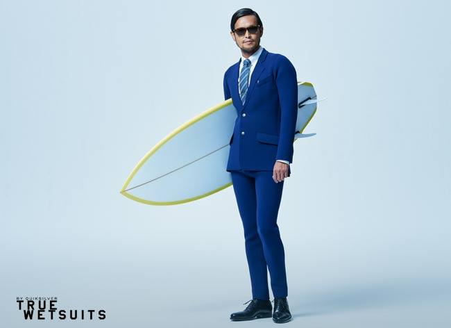 quicksilver true wetsuits costume tuxedo surf waterproof 7 - Quiksilver True Wetsuit, le Costume pour Gentlemen Surfers (video)