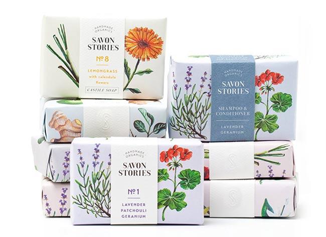 , Savon Stories, le Packaging au Parfum d'Artisanat et de Nature