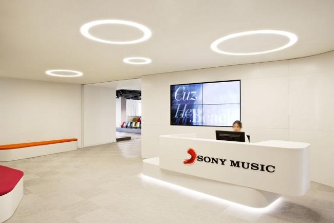 , Sony Music Madrid s'offre un Nouveau QG Haut en Couleurs