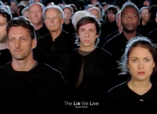 Spencer Cathcart, The Lie We Live… Est-ce Vraiment la Vie que nous Vivons ?! (vidéo)