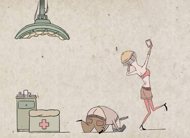 addiction smartphone film animation min alxe, L'Addiction aux Smartphones dans un Perturbant Film d'Animation (video)
