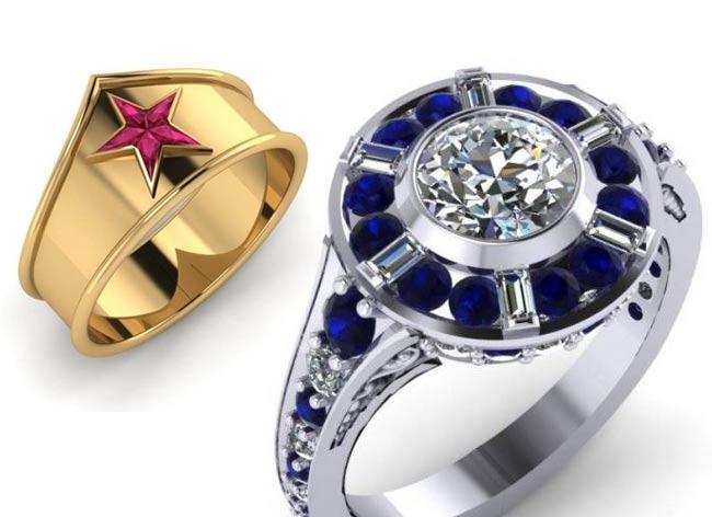 , Héroïque Collection de Bijoux pour Geeks et Geekettes