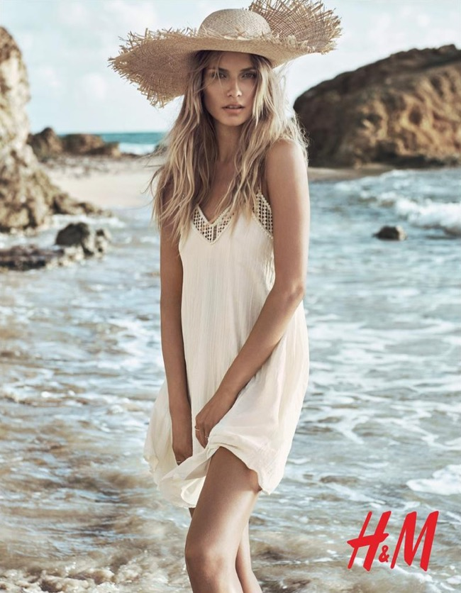, Pour H&M aussi, cet Eté à la Plage sera Bohème et Chic