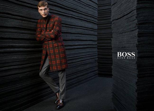, Campagne Hugo Boss Hiver 2015 2016, une Elegante Discretion