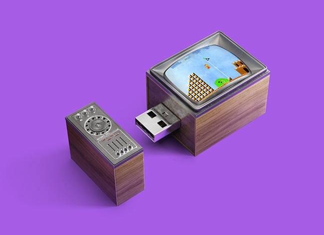 , Ces Nostalgiques Appareils Rétro Transformés en Clés USB