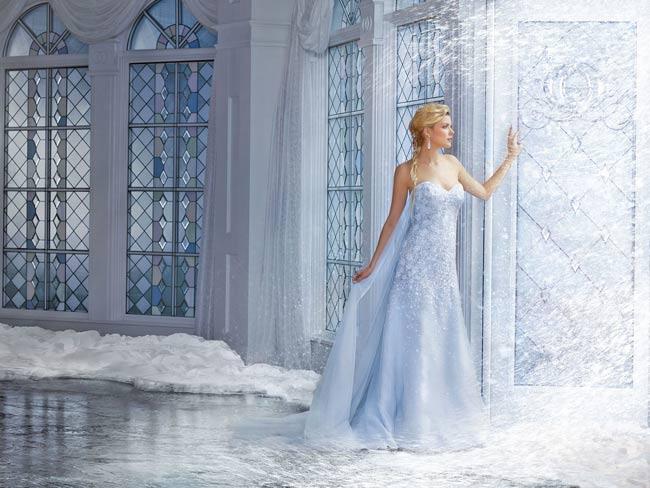 , Robes de Mariées Inspirées des Princesses de Disney par Alfred Angelo