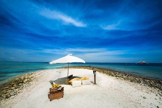 , Elu Meilleur Hotel au Monde le Gili Lankanfushi vous Reçoit les Pieds dans l'Eau