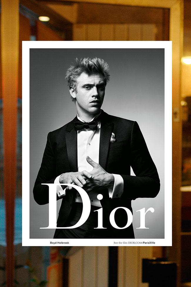 , Paris XVIE, la Campagne Dior Homme Hiver 2015 2016