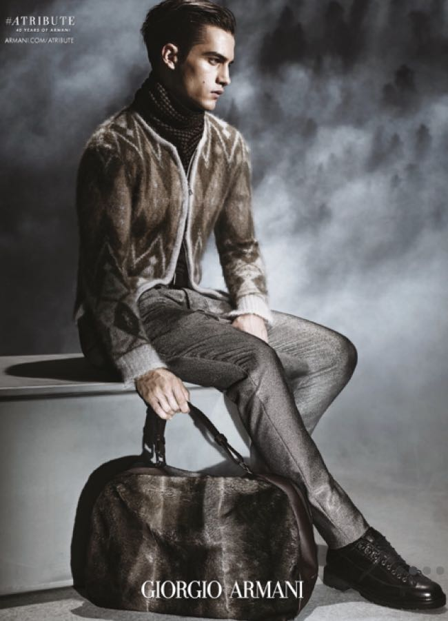 , Giorgio Armani Homme Hiver 2015 2016, Sortez les Cols Roulés !