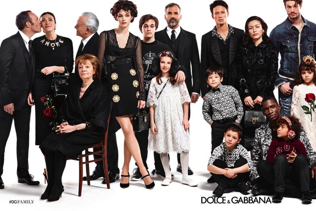 , Pour l'Hiver, l'Homme Dolce & Gabbana Célèbre la Famille