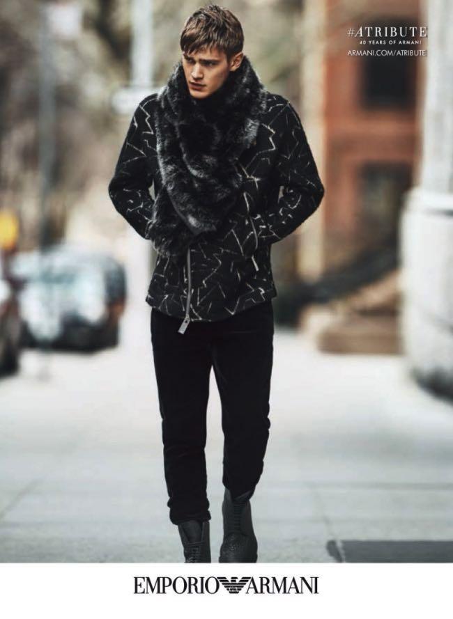 , Emporio Armani 2015 2016, une Campagne Hivernale à New York