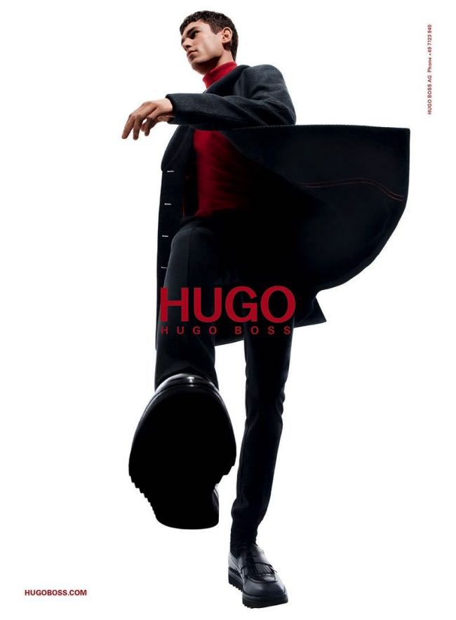 , Hugo by Hugo Boss Hiver 2015 2016, Campagne Minimaliste