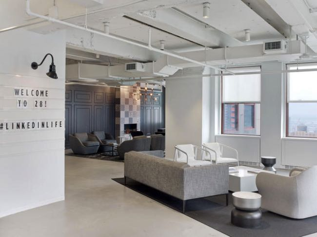 Linkedin Transforme son QG de NY en Social Club pour Hipsters