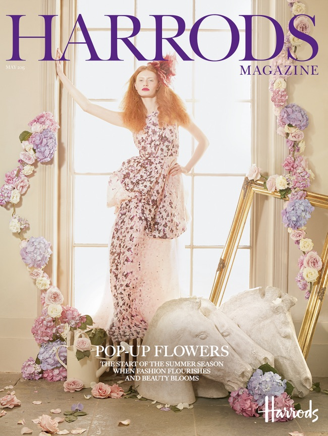 , Tres Chic Evasion Onirique pour le Magazine Harrods