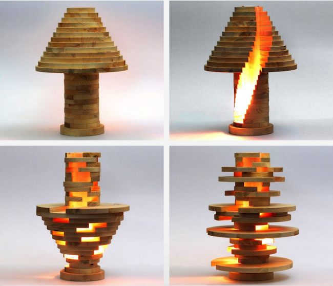 Fabriquez Cette Astucieuse Lampe Modulable En Bois Video