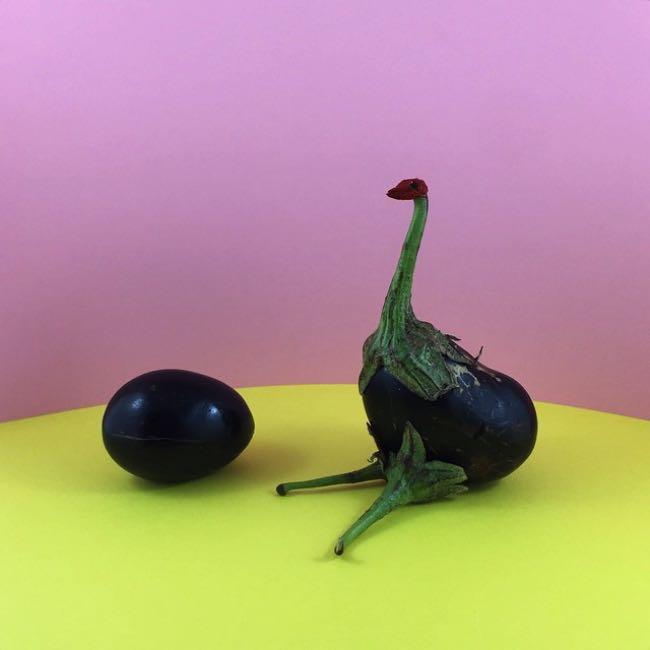 , Etonnants Objets du Quotidien Sculptés en Fruits et en Légumes